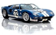 1964 Ford GT40 Prototype GT-104... Only 4 of these were ever Made to beat Ferrari on the Track in Lemans.