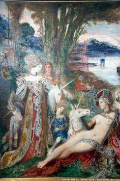 Gustave Moreau, Unicorns