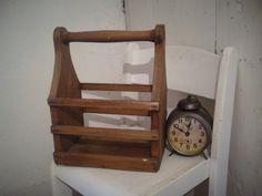 Vintage Aufbewahrung - Alter Flaschenträger, Holz *Vintage - ein Designerstück von AlteScheune bei DaWanda