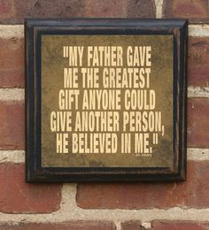 Father's Day Valvano Quote Vintage Style Quote by CrestField