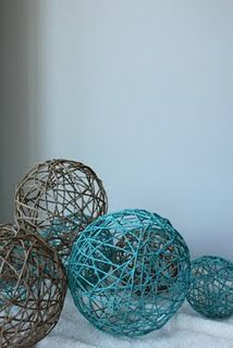 Yarn Balls  (blog, carolyn's homework)