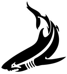tribal-shark-tattoo-13895225648kn4g.jpg (450×492)