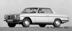 Mercedes-Benz Coupé Typ 280 C bzw. 280 CE, modellgepflegte Ausführung aus dem Jahre 1973