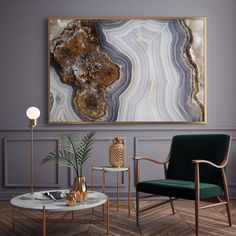 Mineral Photography - (Print # Agate Slab - Choose Fine Art Print or Canvas- Mineral Geode Agate Decor: Wood and Resin geode art Decorating Your Home, Diy Home Decor, Decorating Games, Agate Decor, Crystal Decor, Deco Design, Resin Art, Bohemian Decor, Canvas Wall Art
