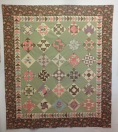 Hyde Park Samples Finished Moda Shuffle quilt
