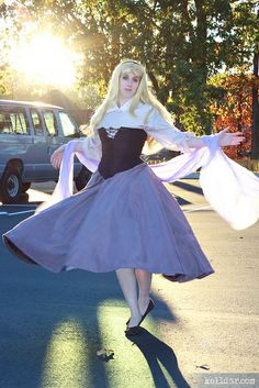My Briar Rose (Sleeping Beauty) costume from 2010. // Construction info and more cosplay photos at kelldar.com