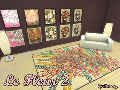Le Fleur Paintings v2