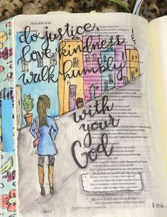 Luke 15 In ESV Journaling Bible Micron Pens And Polychromos Pencils