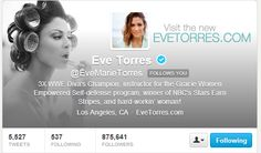 I'm so thankful for every mention, retweet, direct message and of course for following me on twitter. It really means a lot when your idol replies to you on twitter etc. I'm truly blessed. #EveTorres #BelieversBoard