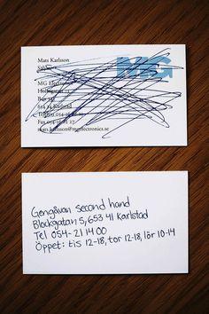 Креативная визитка_магазин секонд-хенда