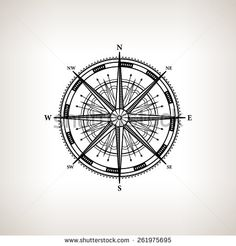 wind rose technical drawing - Google Search