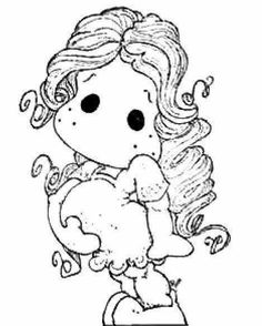 T t pregnant tilda mom to be Colouring Pics, Coloring Sheets, Adult Coloring, Coloring Books, Coloring Pages, My Child Doll, Marker Art, Copics, Digital Stamps