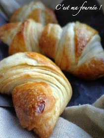 This is my batch: Nobody will fetch the croissants . with Christophe Felder! Croissants, Breakfast Dessert, Perfect Breakfast, Chefs, Cooking Bread, Donuts, Christophe Felder, French Pastries, Cooking Time