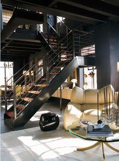 Vintage & Chic · Blog decoración. Vintage. DIY. Ideas para decorar tu casa: Un duplex perfecto en Hollywood · A perfect duplex in Hollywood
