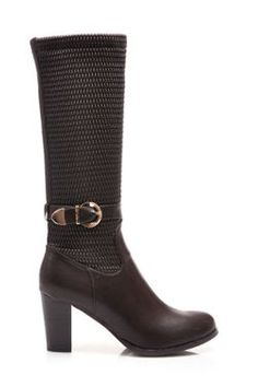 Long boots, zippered, convenient heel Boots, very feminine. Zipper closure - fast and convenient. Decorative gold buckle. Shoes fit nicely, comfortable and convenient. Very elegant. Heel: 8cm Height boots: 32-34 cm (depending on the size) Periphery of the upper rim: 30 to 35 cm (depending of size) Material: eco leather https://cosmopolitus.eu/product-eng-41935-Long-boots-zippered-convenient-heel.html #Women #boots #autumn #winter #fashion #elegant #fashion #design #cheap #women