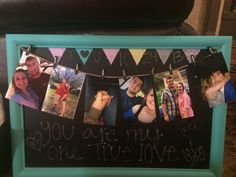 a college going away present for my boyfriend..just a little reminder of me(: