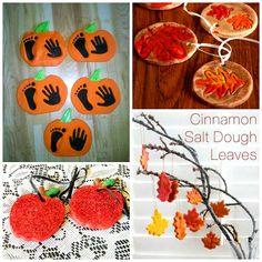 Fall Salt Dough Ornaments & Craft Ideas