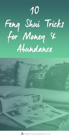 10 Feng Shui Tricks for Money + Abundance