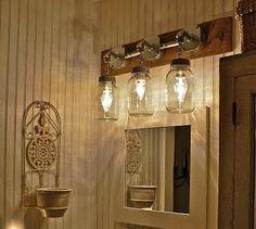Mason Jars Vanity Lights