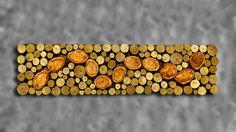 CUSTOM MADE 12x48 Rustic Modern Tribal Decor Tree Branch Wall Art Plum Serpent on Sumac Wall Sculpture by WoodsNart on Etsy https://www.etsy.com/listing/101541459/custom-made-12x48-rustic-modern-tribal