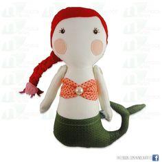 Boneca de Pano - MARINA | www.ninocaartes.com.br