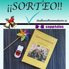 Sorteo de Navidad: Libro Personalizado Zapptales de hasta 150 páginas