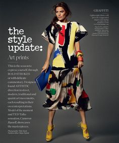 Cameron Russell -Porter Magazine - The Fashion Memo: Art Prints