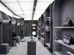 """Viktor & Rolf's flagship boutique in Paris, Architecture & Associés creates """"ghost architecture"""""""
