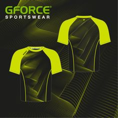 Keeping it sweet with this contrasting lime green & black tee Netball Dresses, Team Wear, Cycling Bikes, Design Your Own, Modern Design, Contrast, Lime, Bright