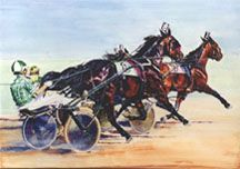 Into the Clear Standardbred Horse, Horse Racing, Race Horses, Harness Racing, Horse Print, Prints, Animals, Collections, Sport