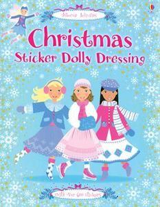 Usborne Christmas Sticker Dolly Dressing Book $8.99 SueSellsUsborne.com