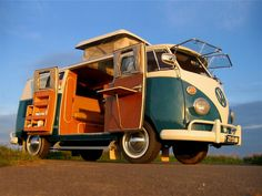 Step 1 - Buy & refurbish a VW Bus  Step 2 - Take an epic & lengthy road trip from Canada to Baja, Mexico  Step 3 - Enjoy the ride!