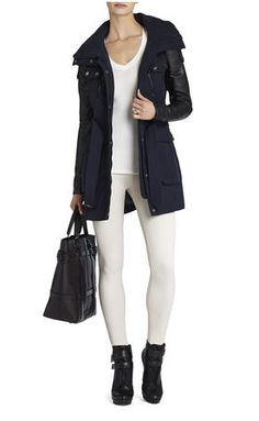 BCBG Spencer Cargo Jacket, $398
