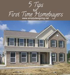 5 Tips for First Time HomeBuyers | these are the top 5 things everyone needs to know and do before buying a home | #ilovelennar #spon #home ...