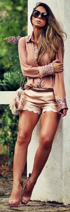 Decor E Salto Alto Total Nude And Blush Outfit