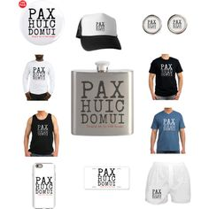 Pax Huic Domui by polyart-466 on Polyvore featuring men's fashion and menswear