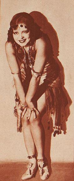"The ""It"" Girl; Clara Bow"