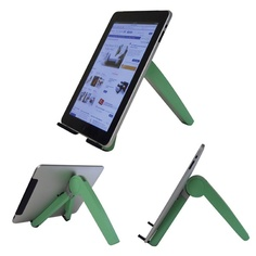 Cricket Laptop/iPad Stand: The Cricket Notebook and iPad Stand makes it easy for you to view the screen, without straining your eyes or your muscles.  http://www.relaxtheback.com/office/office-workstations/cricket-laptop-ipad-stand.html