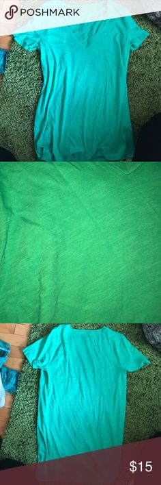 Green never wore t-shirt This light green t-shirt has never been worn and still has the tags on J. Crew Tops Tees - Short Sleeve