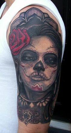 540 Beste Afbeeldingen Van Dia De La Muerte Sugar Skull Tattoos
