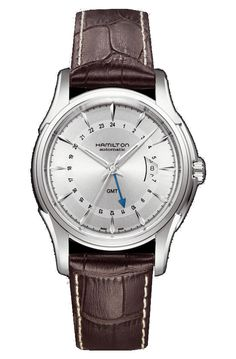 Hamilton  Watch  Company   Founding  Year  1893  Lancaster  (Pennsylvania)  USA  Design  Model   Traveler GMT
