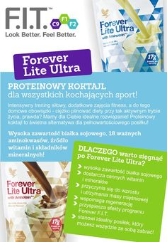 Protein Shake Forever Lite Ultra Protein Shakes, Betta, Natural, Health, Fitness, Gymnastics, Salud, Healthy, Keep Fit