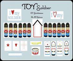 TOY+Soldier+♥13+x+18♥Stickdatei♥Soldat♥++von+Kitsch-deluxe+auf+DaWanda.com