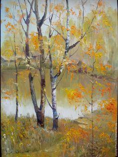 Купить Место наших встреч - пейзаж, картина, картина в подарок, картина для интерьера, картина маслом