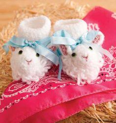 Lamb Booties | crochet today