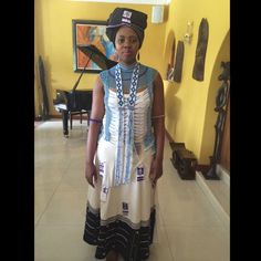 xhosa traditional attire - Google Search African Wedding Attire, African Attire, African Dress, African Outfits, African Traditional Wedding, African Traditional Dresses, Traditional Outfits, African Beauty, African Women