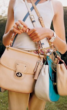 My newest obsession! I need another job so I can buy the new Willis bag by coach!