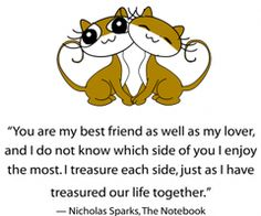 YOU ARE MY BEST FRIEND AS WELL AS MY LOVER - LOVE QUOTES » My Lovely Quotes