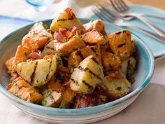 Melissa's 5-star Grilled Potato Salad
