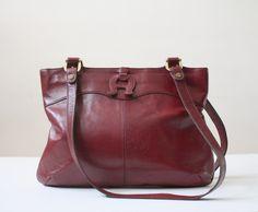 vintage etienne aigner shoulder satchel